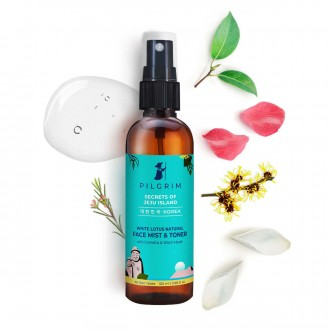 White Lotus Natural Face Mist & Toner with Camellia & Witch Hazel