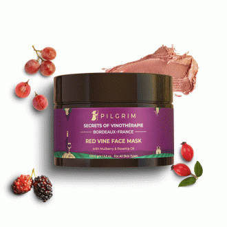 Red Vine Face Mask with Mulberry & Rosehip Oil
