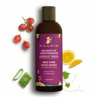 Red Vine Face Wash with Vitamin C & Aloe